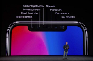 sistem biometrik iPhone X