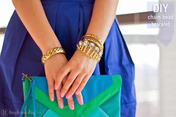 pulseras, brazaletes, bisutería, abalorios, tutoriales, manualidades