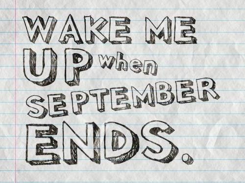 Lima Lagu dengan Lirik Bulan September!