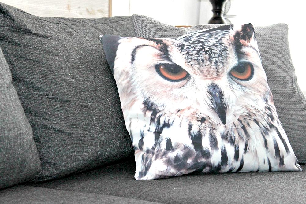 poduszka z sową