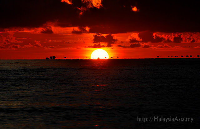 Sipadan Island Sunrise Photo