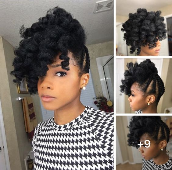 7 natural hair styles