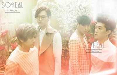 grup vokalbaru bergenre ballad yang debut  Biodata Boyband SoReal (SO REAL)