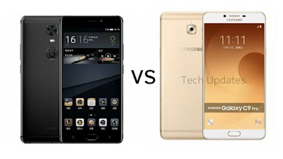 Gionee M6S Plus Vs Samsung Galaxy C9 Pro : Price ,Specs , Features Comparison
