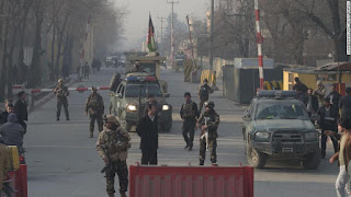 At least 10 security contractors killed in Kabul attack