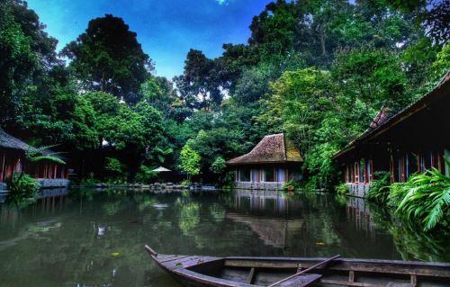 Hotel Unik dekat wisata Kampung Gajah lembang bandung