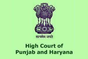 Image result for PUNJAB & HARYANA HIGH COURT LOGO
