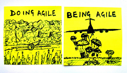 """Not Agile"" is a BS. Agile is not the goal, but means"