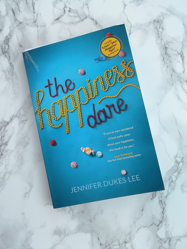 currently reading trying hoping decorating to-do listing The Happiness Dare Jennifer Dukes Lee book