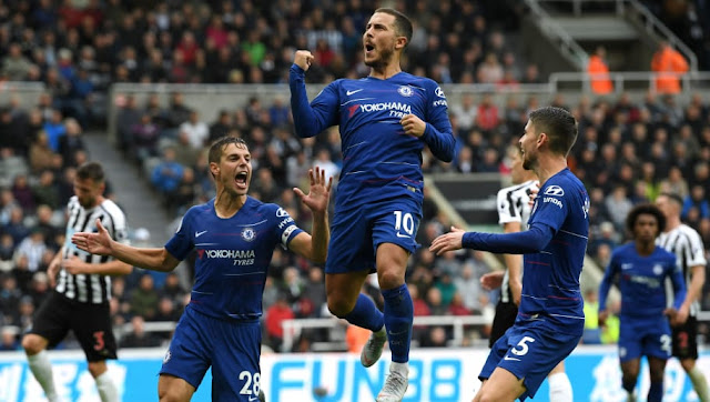 Newcastle 1-2 Chelsea: Attacking Football prevails.