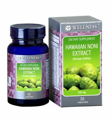 Wellness Hawaiian Noni Extract Menstimulasi sistim kekebalan tubuh
