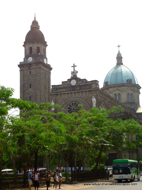 Manila Cathedral at Intramuros