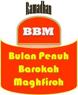 DP BBM Ramadhan Terbaru Barokah Maghfiroh