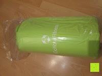Verpackung: Akupressur-Set »Jimuta« / Tasche + Matte + Kissen / Akupressur- und Massagematte zur effektiven Lockerung und Lösung von Verspannungen / in verschiedenen fröhlichen Farben erhältlich.