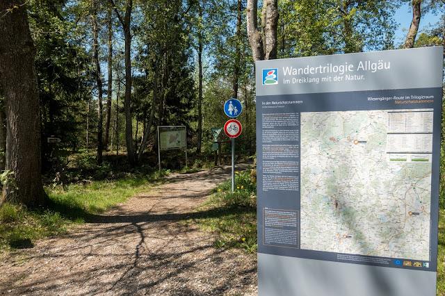 Wandertrilogie Allgäu Etappe 11  Bad Wurzach – Eintürnen  Wiesengänger Route 07