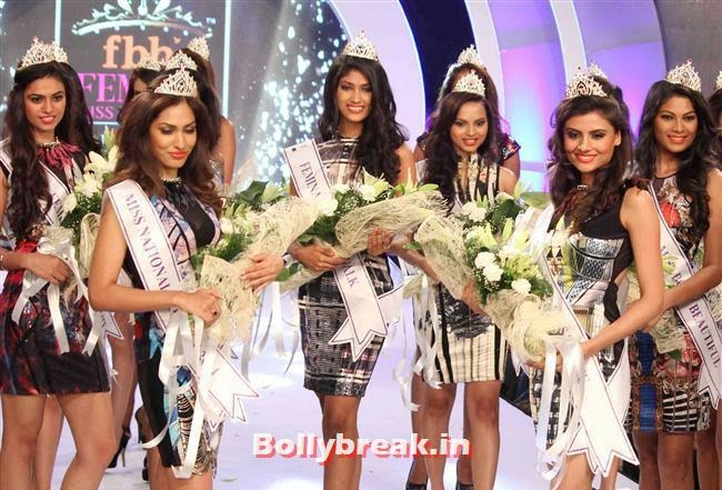Miss India 2014 Crown Unveiled, Miss India Winners & contestants at Miss India 2014 Crown Unveiling