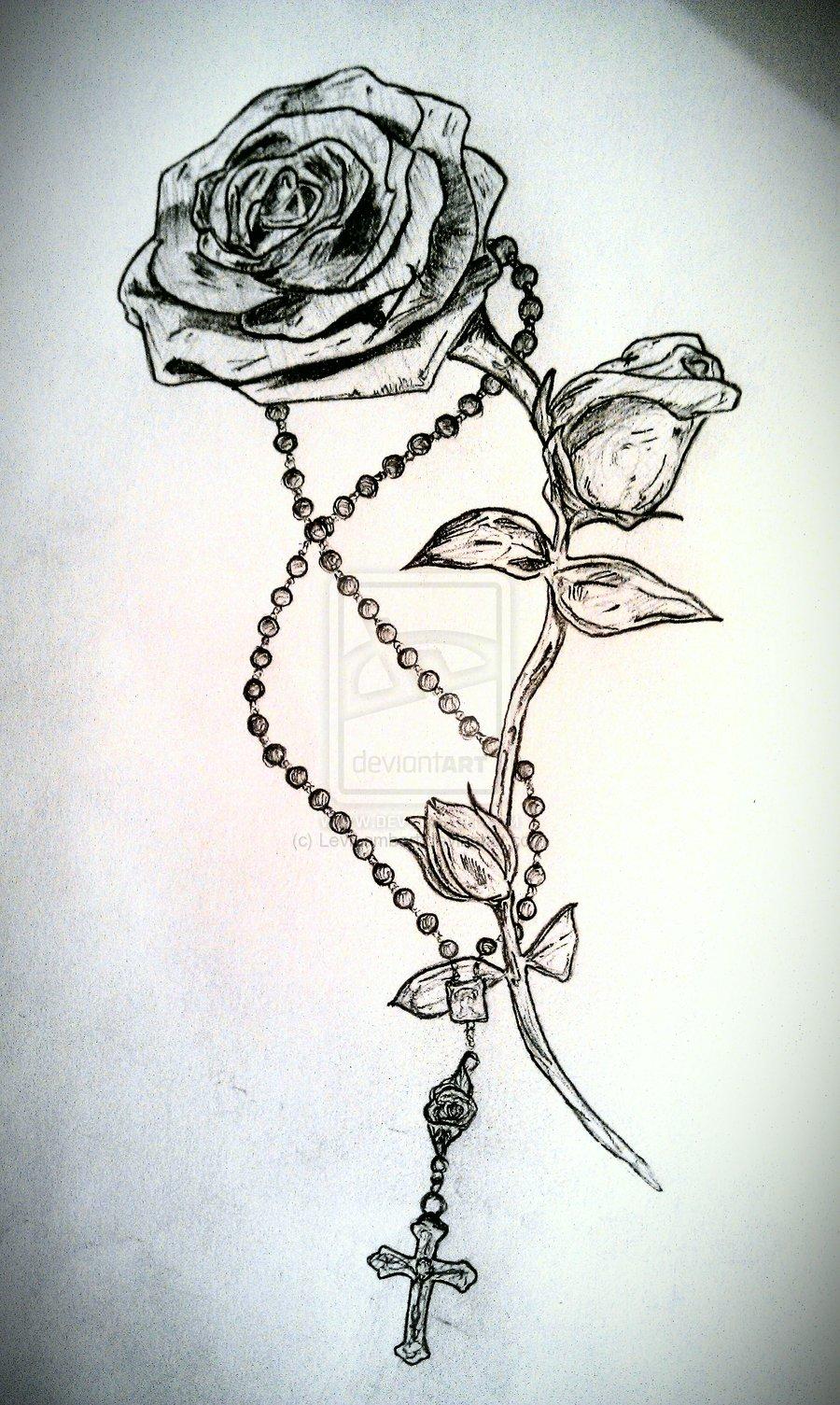 Rosary Tattoos  Rosary Tattoos...