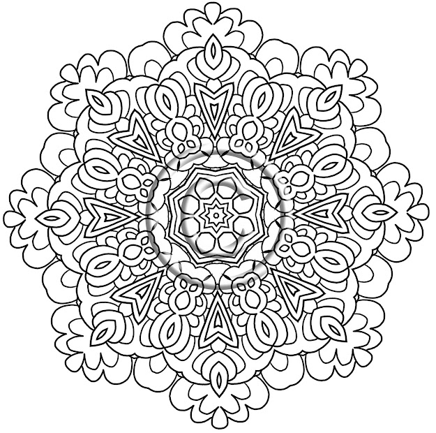 Mandala Coloring Pages Expert Level With Online For Kid Printable Mandala  Coloring Pages  In Picture