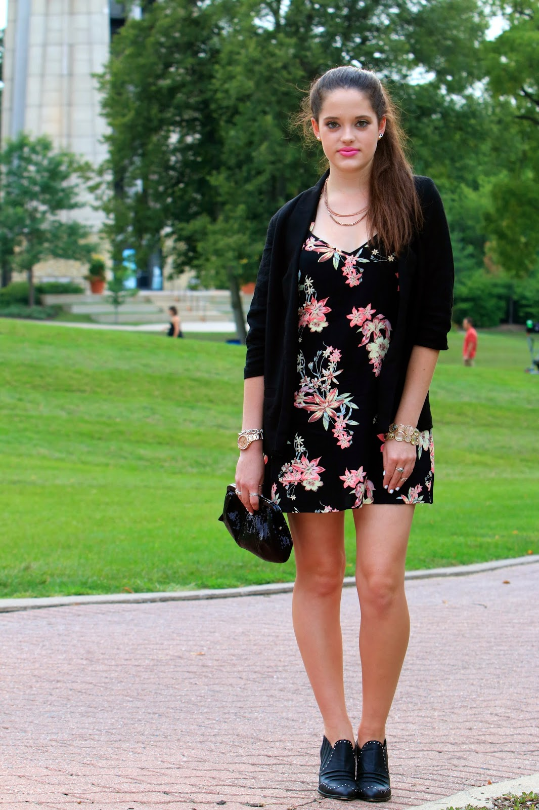 d18017f80de7 Kathleen's Fashion Fix: Miami Vice :: floral slip dress