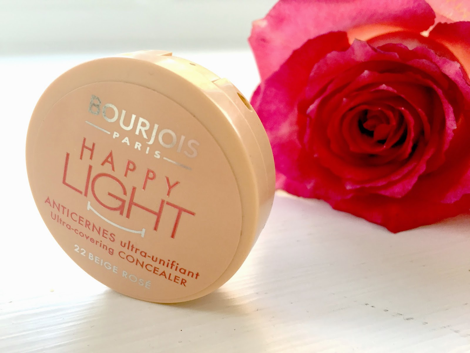 Bourjois Paris Happy Light Ultra-Covering Concealer Review and Swatches