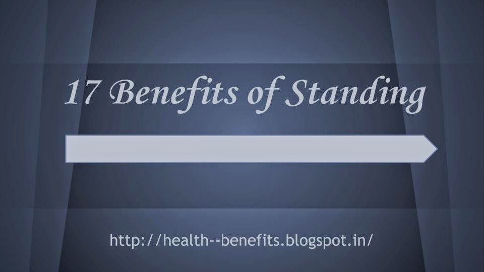 benefits of standing posture