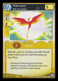 My Little Pony Philomena, Bird of a Feather Premiere CCG Card