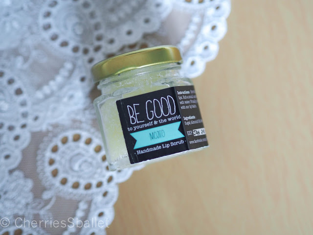 Be Good To Mojito Handmade Lip Scrub