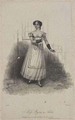 Miss Byrne (Adela) en 1818