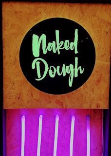 Neon Naked Dough Sign