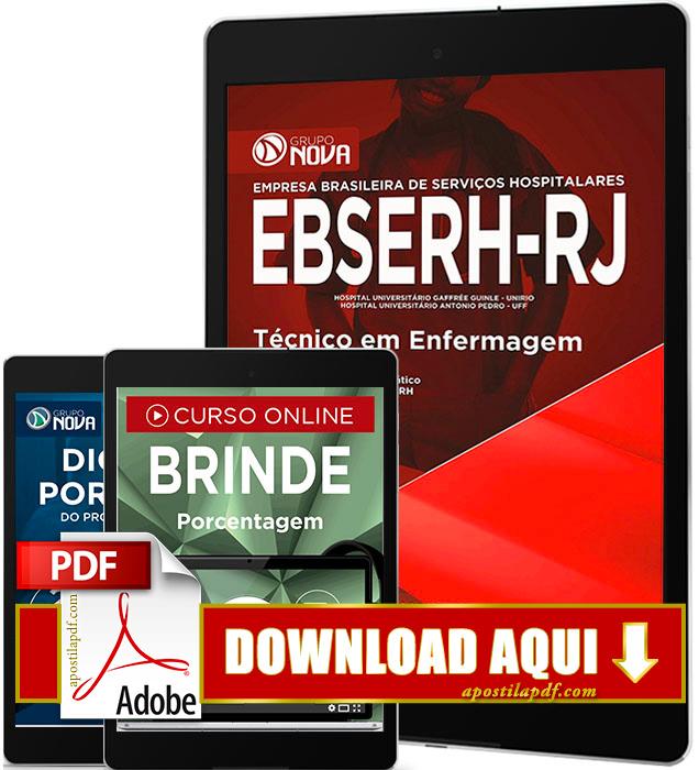 Apostila EBSERH RJ 2016 PDF Download Técnico em Enfermagem PDF