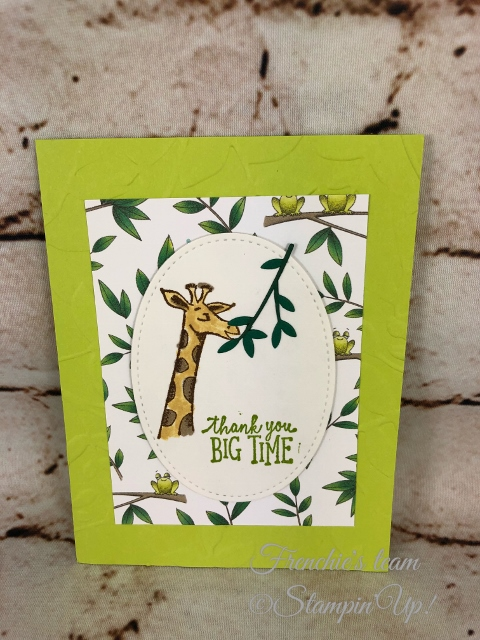 Animal Outing, Frenchie' Team, Stampin'Up!, New release stamp set in the Annual catalog,