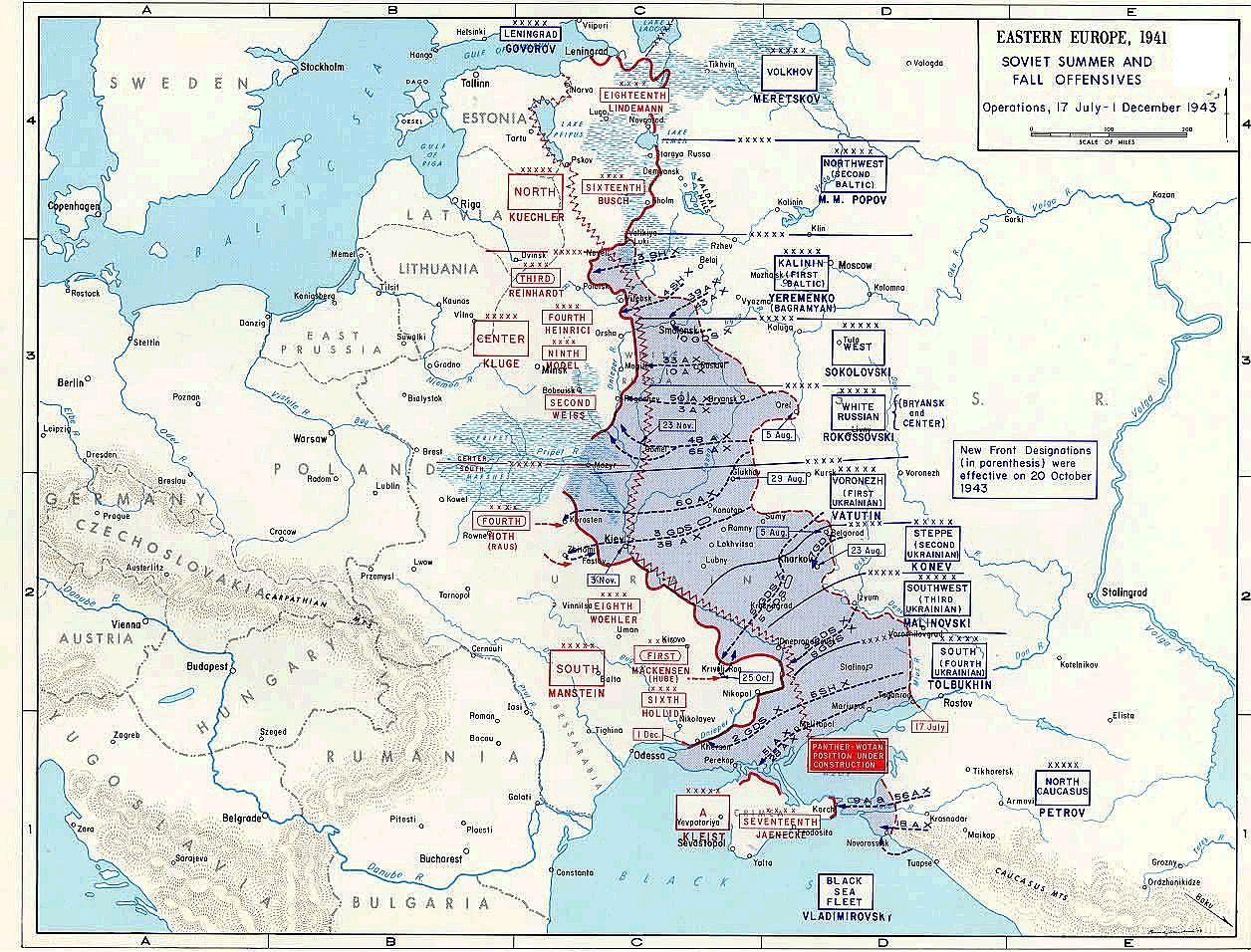 an analysis and history of the east front during the world war two Hitler expanded world war ii by opening an eastern front in europe by  front lines collapsed within two  single front in the history of warfare.