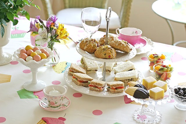 Tea Party For Mother\u0027s Day - Celebrations at Home