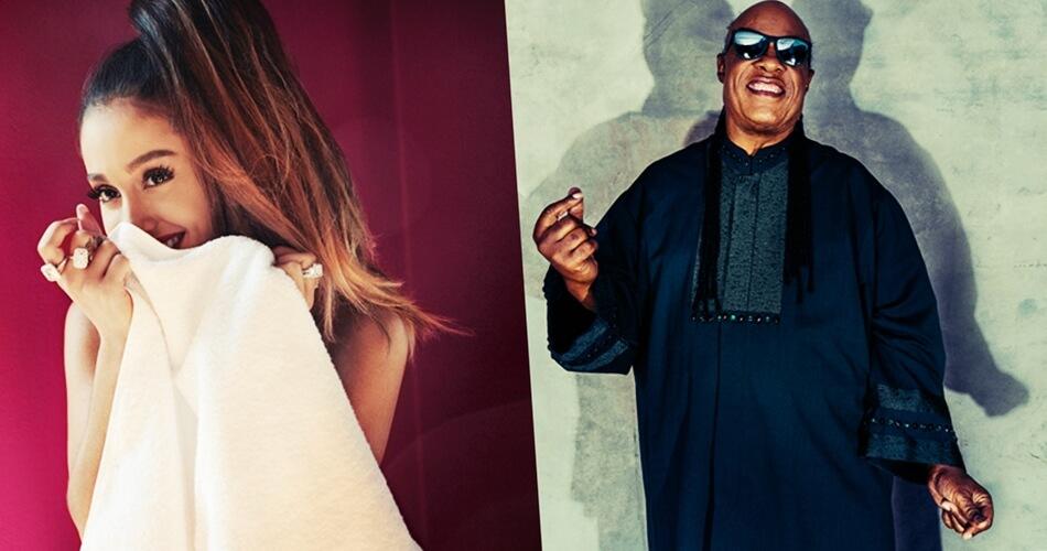 Ariana Grande & Stevie Wonder unen fuerzas para nueva canción