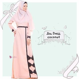 Gamis Valisha Zea Dress Coconut