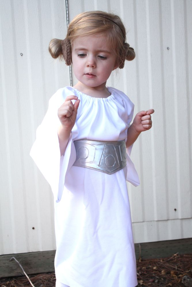 Princess Leia costume+belt tutorial
