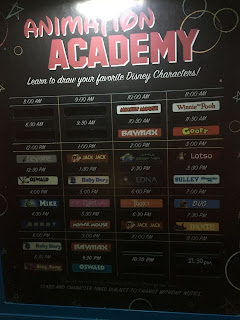 Animation Academy Schedule