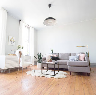 bright and airy hipster airbnb in Chicago