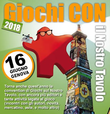 La nostra CON colpisce ancora! Genova 16 giugno 2018