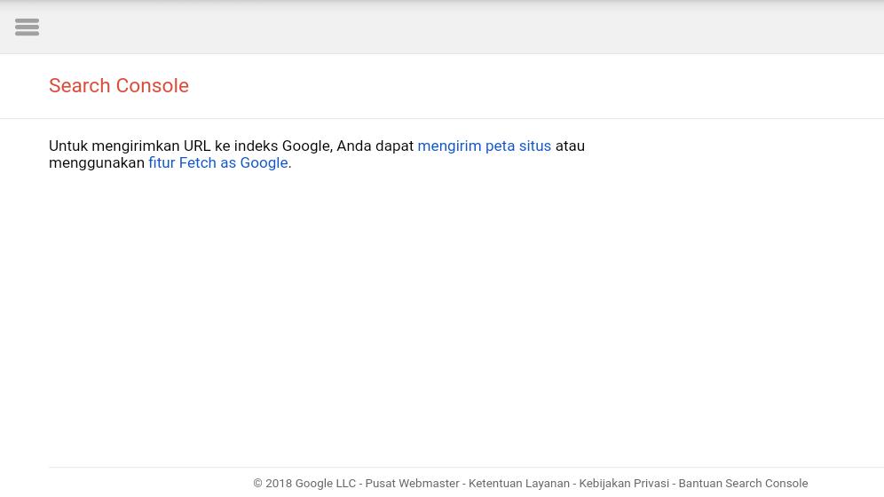 Cara Submit URL Terbaru Di Google Webmaster atau Search Console