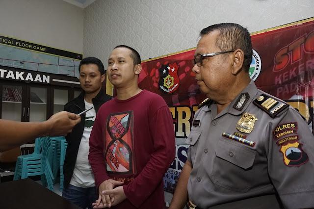 Pelaku Video Ancaman 'Penggal Kepala Jokowi' Tertangkap, Bukan Warga Kebumen