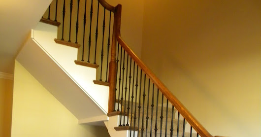 How To Replace Painted Wood Balusters With Iron Balusters Blue Bell PA