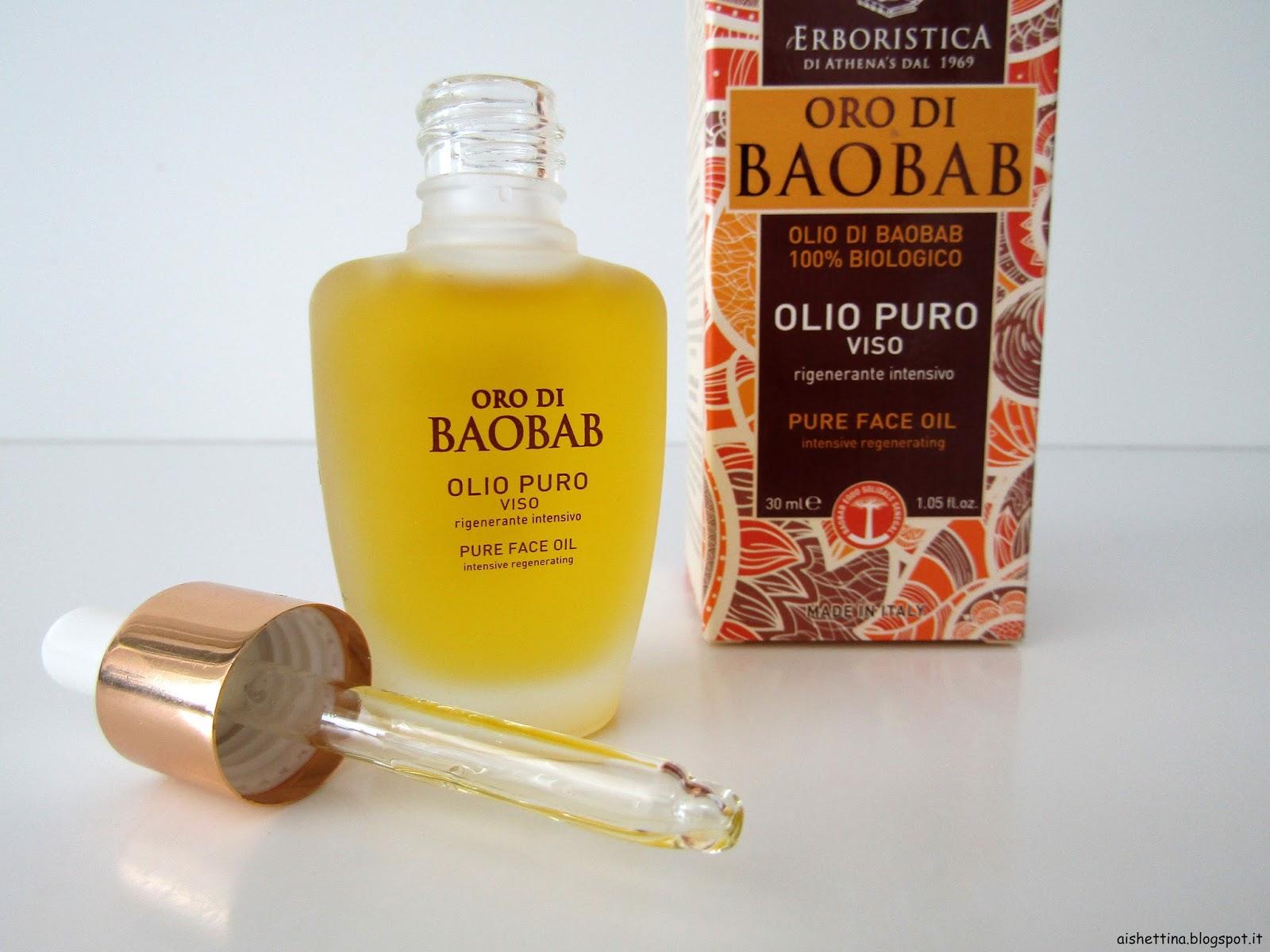 oro di baoba olio puro viso