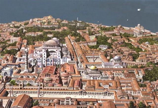 Ετσι ήταν η Κωνσταντινούπολη πριν από την Αλωση