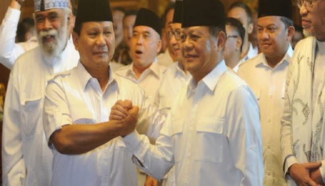 Amanat Prabowo Kepada Sudrajat: Rakyat Akan Rusak Jika Memilih Pemimpin Karena Uang