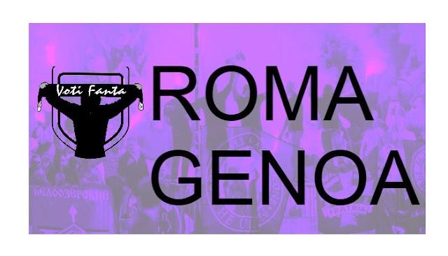 Preview ROMA GENOA formazioni, infortunati, ultime notizie