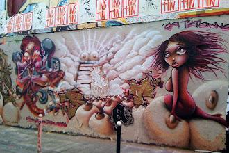 Sunday Street Art : Man Chau, Doudou et Vinie - rue Dénoyez - Paris 20