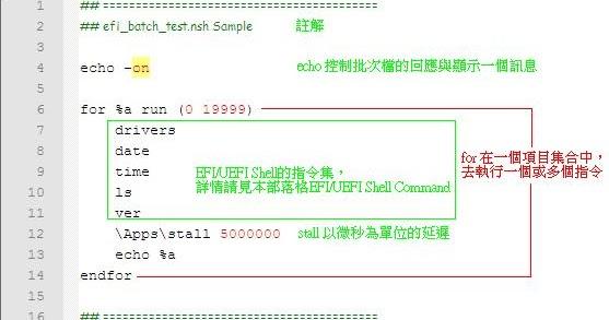Hello World: EFI/UEFI Shell Command