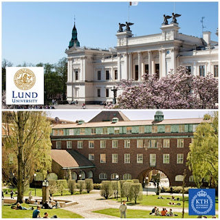 daftar universitas ternama di swedia lund university kth