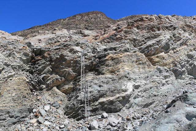 Szlak na Monte Rosa Hutte